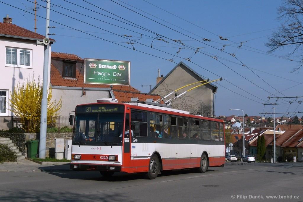 Fotogalerie » Škoda 14TrR 3240 | Šlapanice | Brněnská