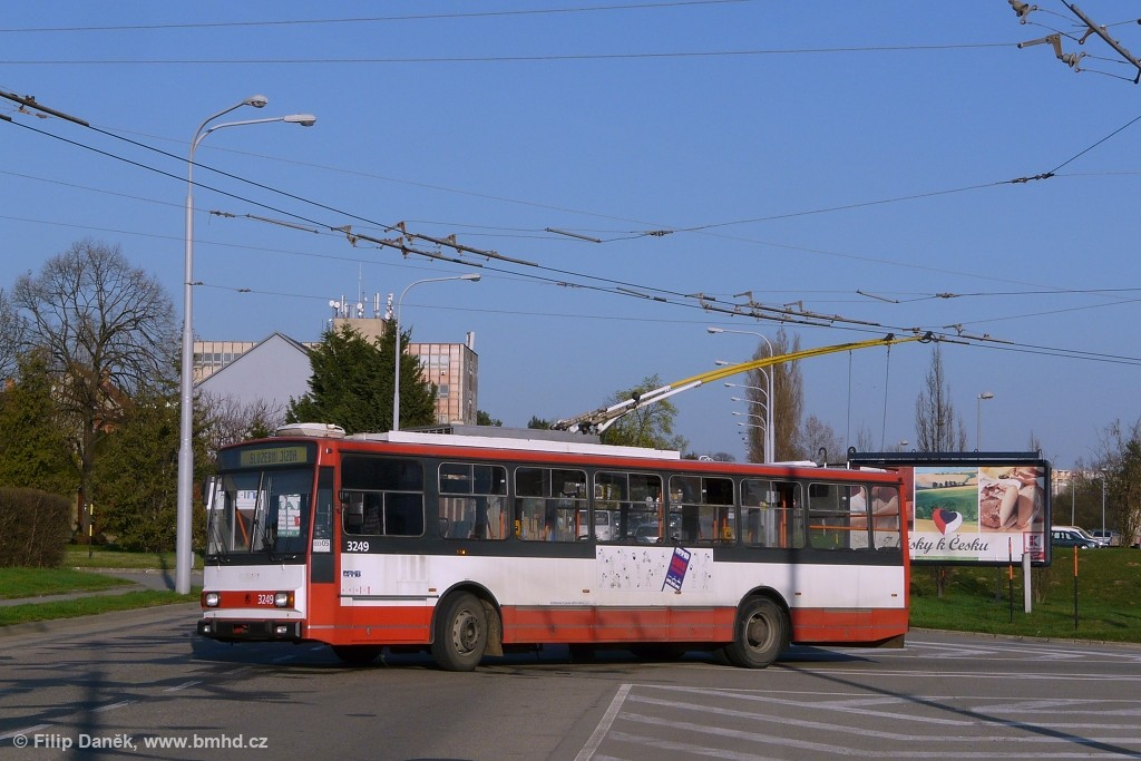 Fotogalerie » Škoda 14TrR 3249 | Brno | Slatina | Hviezdoslavova
