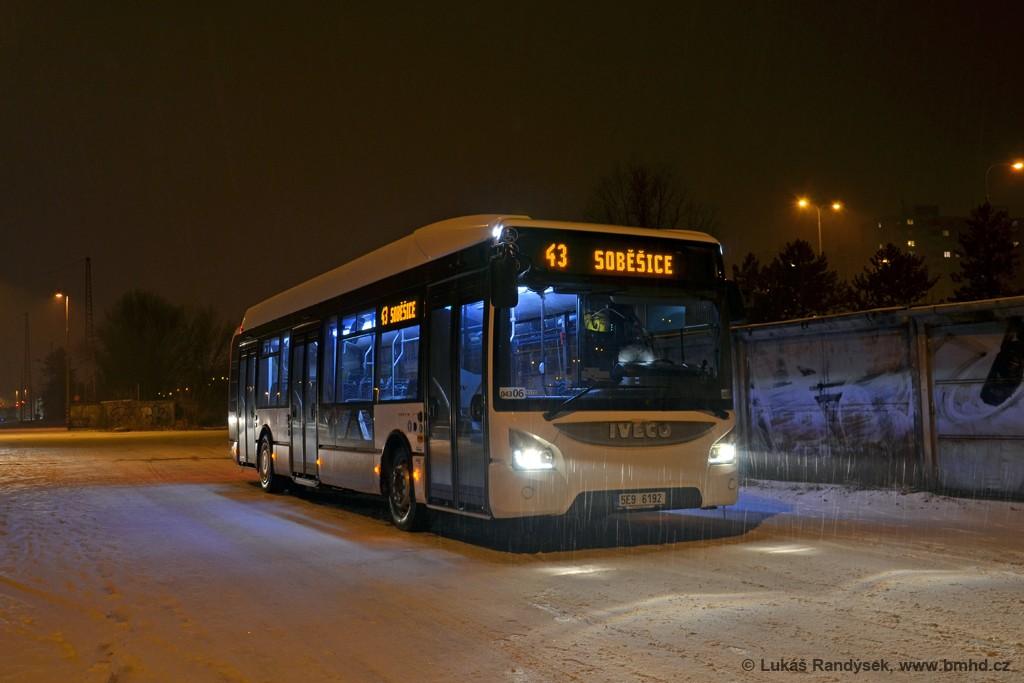 Fotogalerie » Iveco Urbanway 12M 5E9 6192 2721 | Brno | Královo Pole