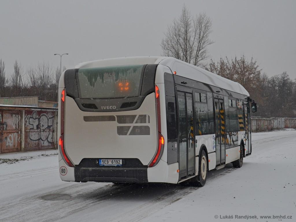 Fotogalerie » Iveco Urbanway 12M 5E9 6192 2721   Brno   Královo Pole