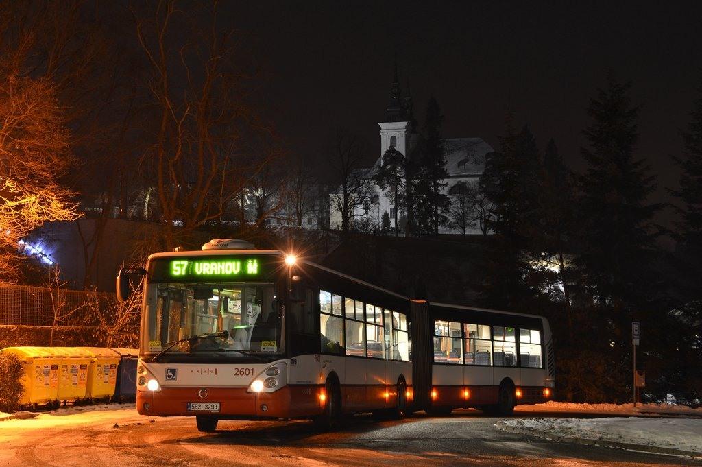 Fotogalerie » Irisbus Citelis 18M 5B2 3293 2601 | Vranov | Kateřinská | Vranov, smyčka