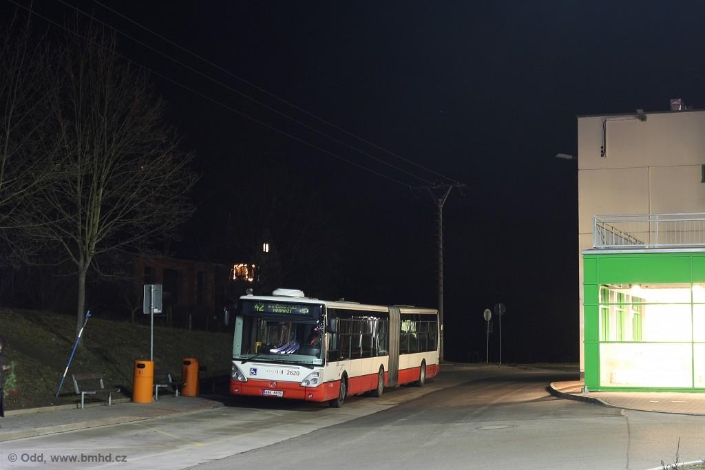 Fotogalerie » Irisbus Citelis 18M 6B6 6835 2620 | Brno | Ivanovice | Ivanovice, Globus