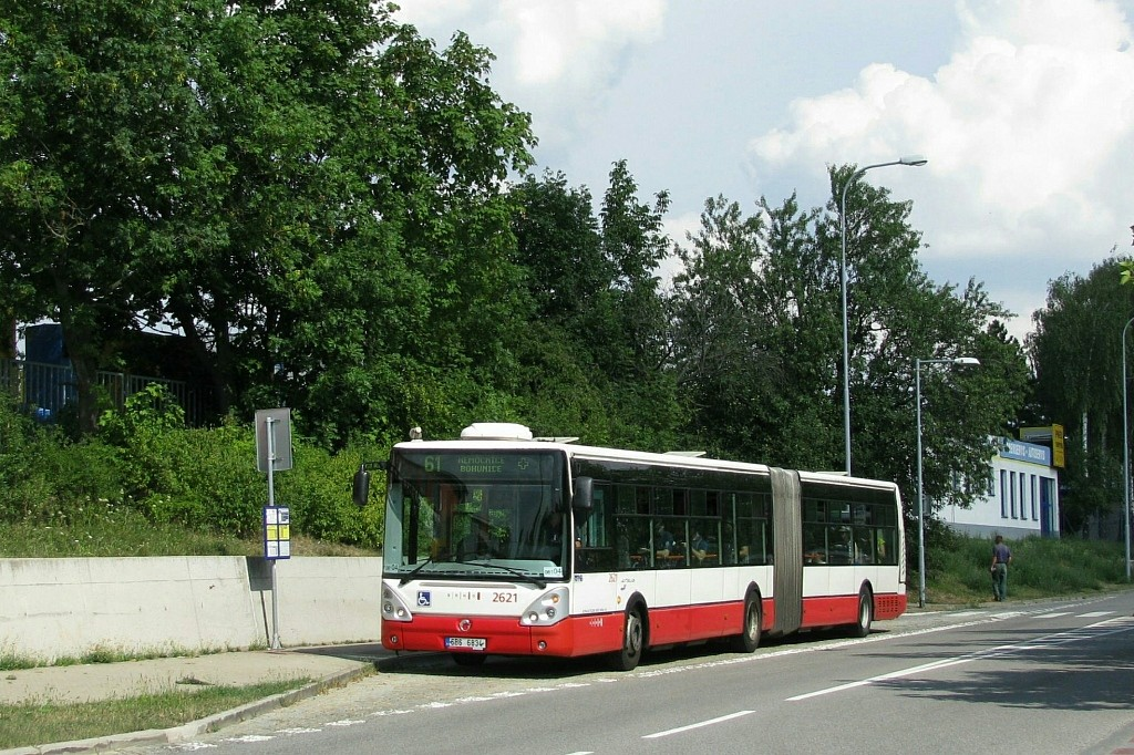 Fotogalerie » Irisbus Citelis 18M 6B6 6834 2621 | Brno | Bohunice | Kamenice | Kejbaly