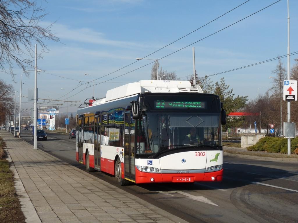 Fotogalerie » Škoda 26Tr 3302 | Brno | Slatina | Hviezdoslavova