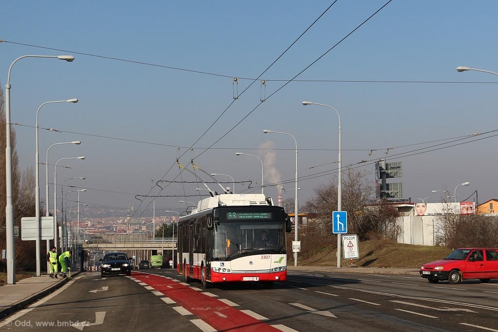 Fotogalerie » Škoda 26Tr 3307   Brno   Černovice   Olomoucká