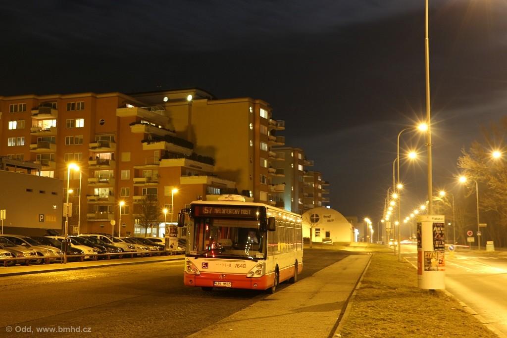 Fotogalerie » Irisbus Citelis 12M 4B5 9662 7648   Brno   Lesná   Okružní   Haškova