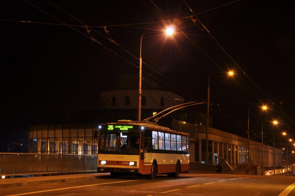 Fotogalerie » Škoda 14TrR 3249 | Brno | Komín | Veslařská
