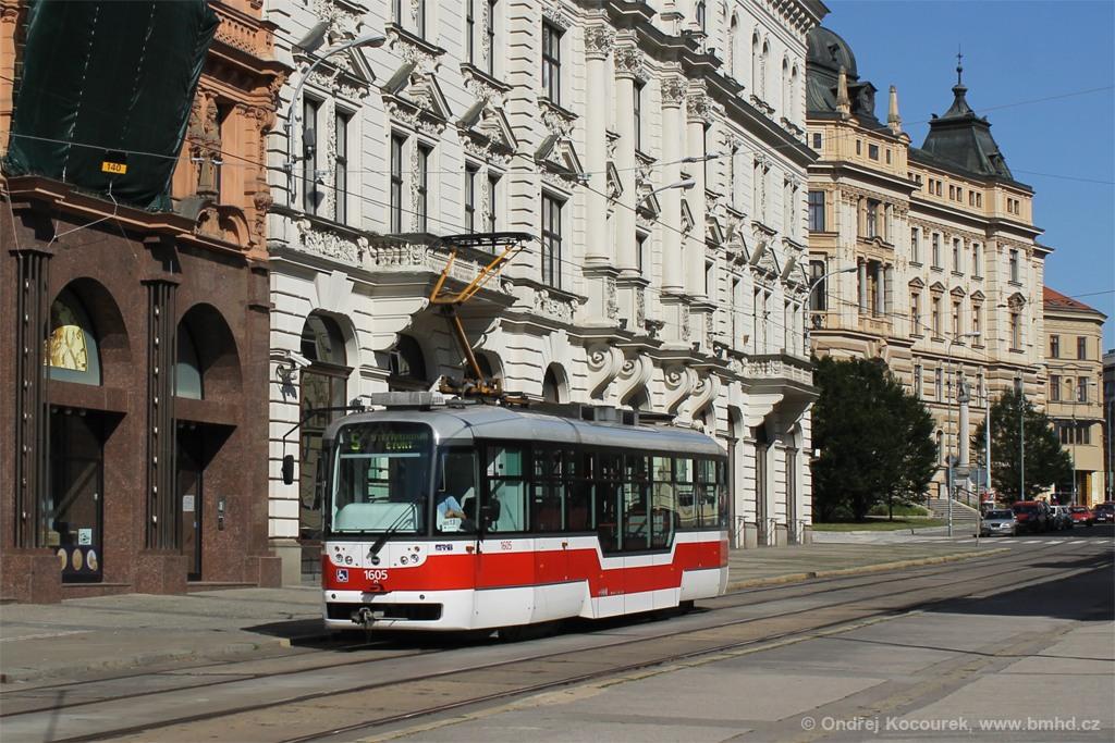 Fotogalerie » Pragoimex VarioLFR.E 1605 | Brno | střed | Malinovského náměstí
