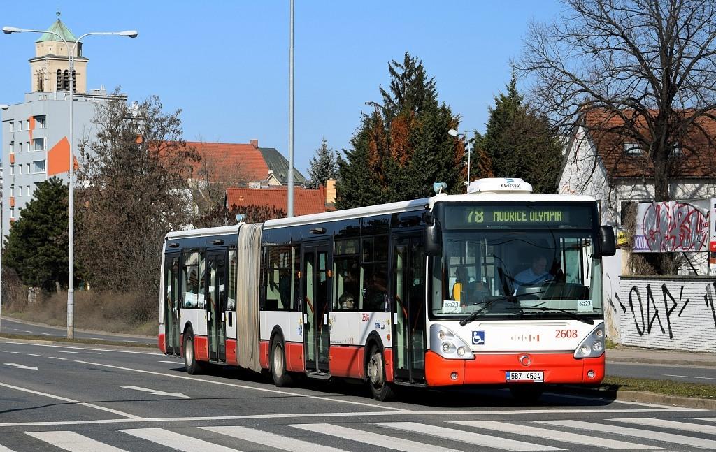 Fotogalerie » Irisbus Citelis 18M 5B7 4534 2608   Brno   Židenice   Gajdošova