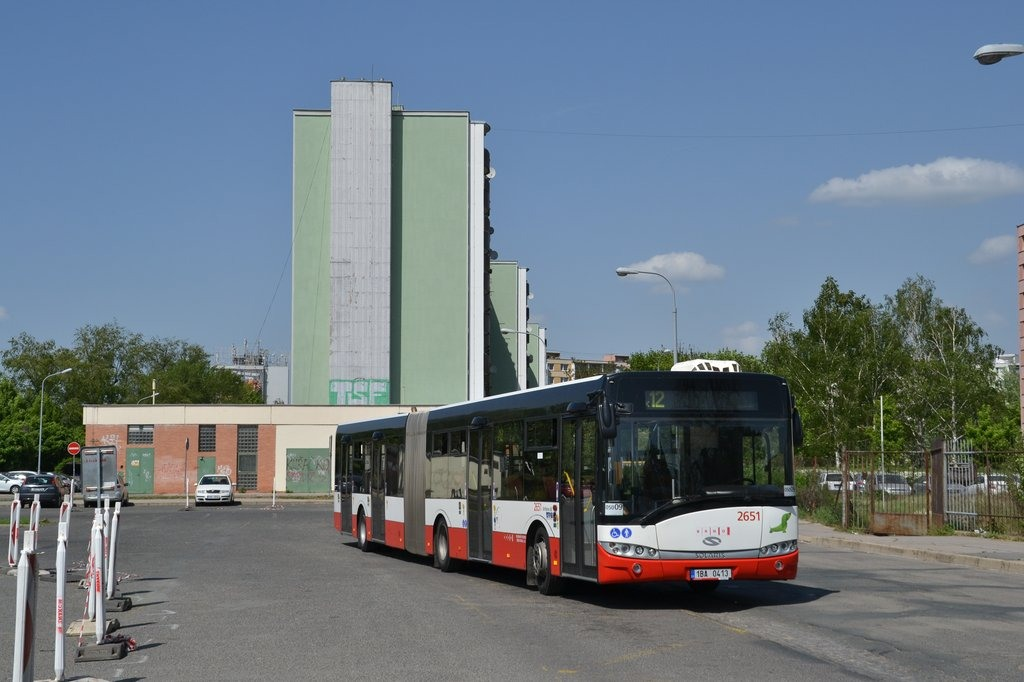 Fotogalerie » Solaris Urbino 18 III 1BA 0413 2651 | Brno | Komárov | Mariánské náměstí | Komárov