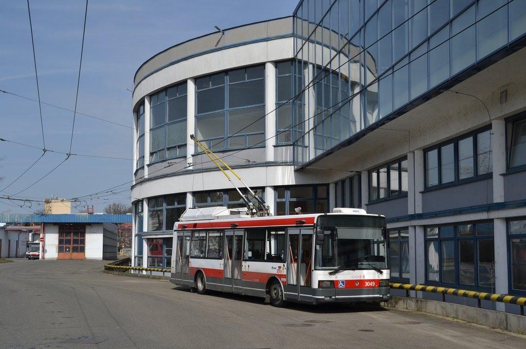 Fotogalerie » Škoda 21Tr 3049 | Brno | vozovna Komín