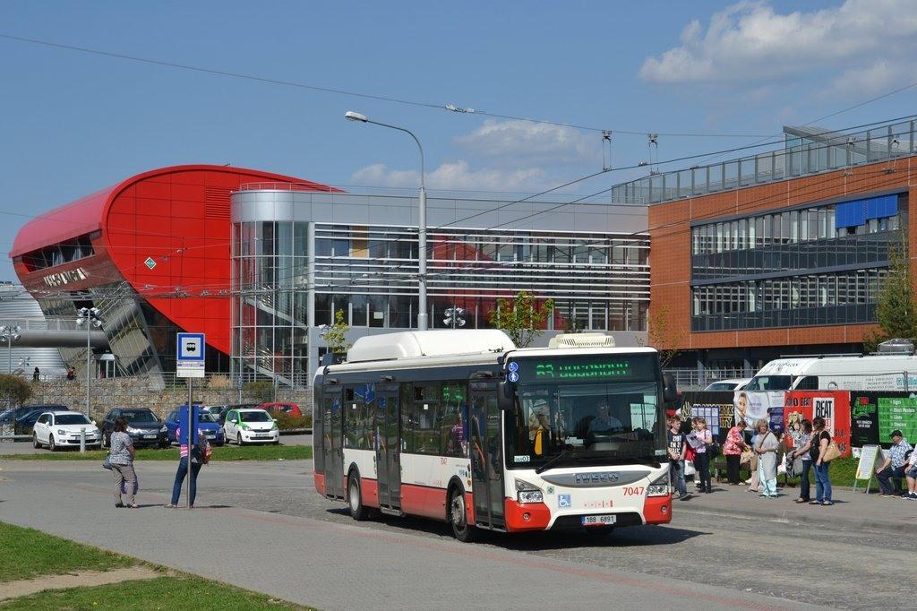 Fotogalerie » Iveco Urbanway 12M CNG 1BB 6891 7047 | Brno | Bohunice | Netroufalky | Nemocnice Bohunice