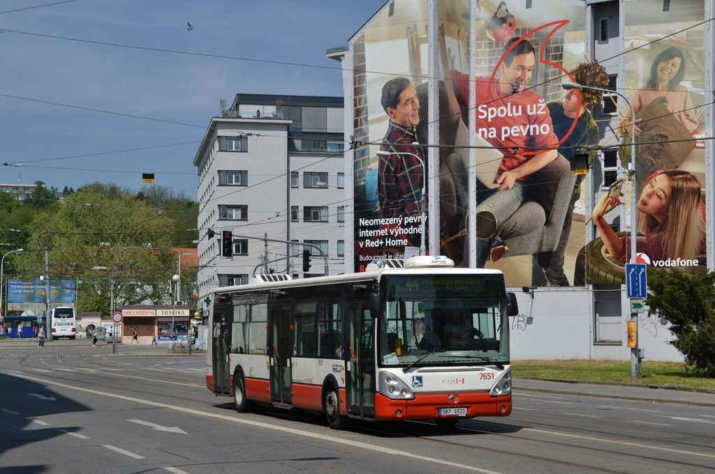 Fotogalerie » Irisbus Citelis 12M 5B7 4533 7651 | Brno | Staré Brno | Křížová