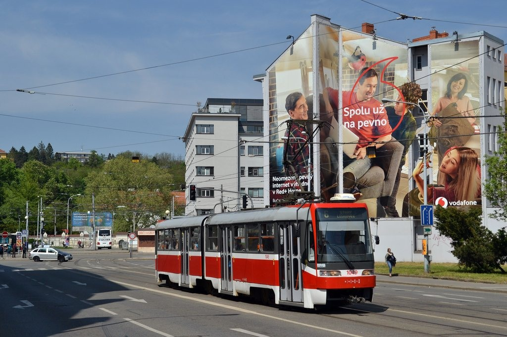 Fotogalerie » ČKD Tatra K2R03-P 1049 | Brno | Staré Brno | Křížová