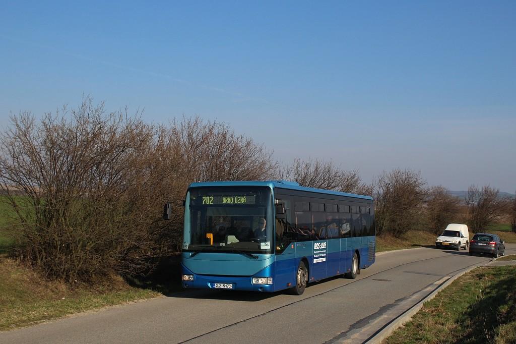 Fotogalerie » Irisbus Crossway LE 12M 4L2 5173 | Pozořice | Kovalovická
