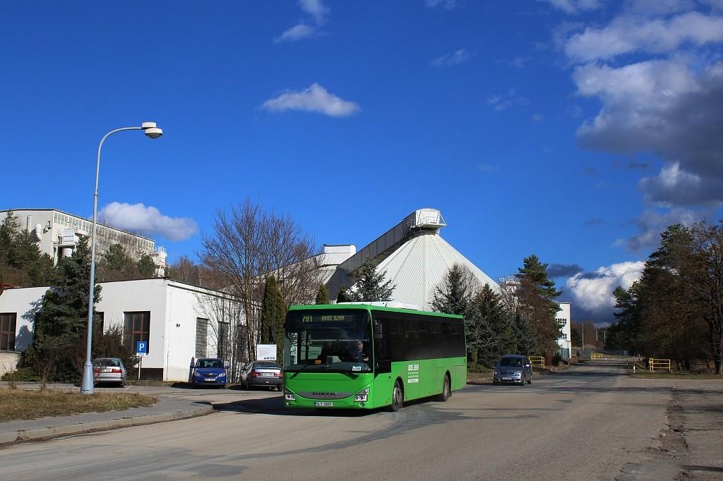 Fotogalerie » Iveco Crossway LE LINE 12M 5L1 5061 | Mokrá-Horákov | Mokrá-Horákov, lom