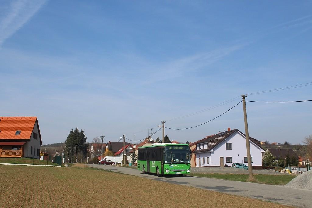 Fotogalerie » Iveco Crossway LE LINE 12M 5L1 5063 | Pozořice | Holubická