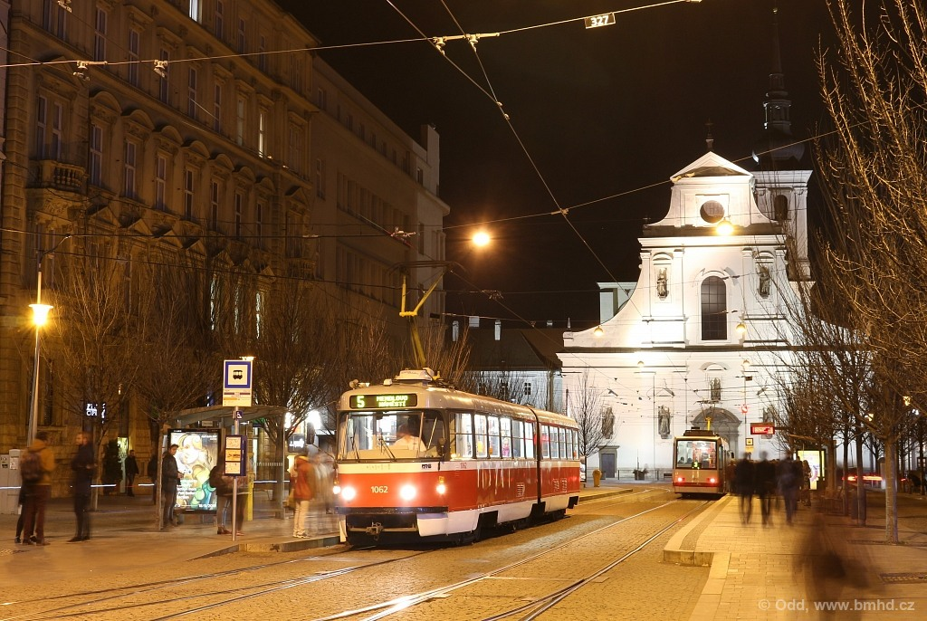Fotogalerie » ČKD Tatra K2P 1062 | Brno | střed | Joštova | Česká