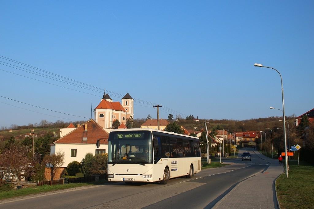 Fotogalerie » Irisbus Crossway LE 12M 3J4 8876 | Pozořice | Ke Koupališti