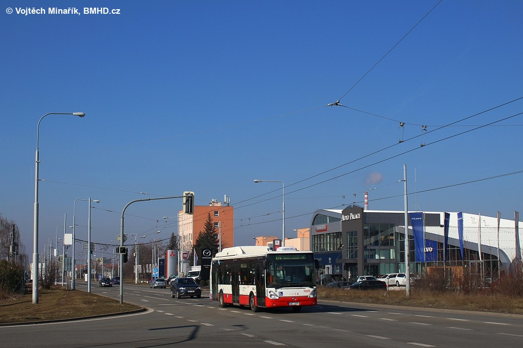 Fotogalerie » Irisbus Citelis 12M CNG 9B7 9159 7009 | Brno | Slatina | Řípská