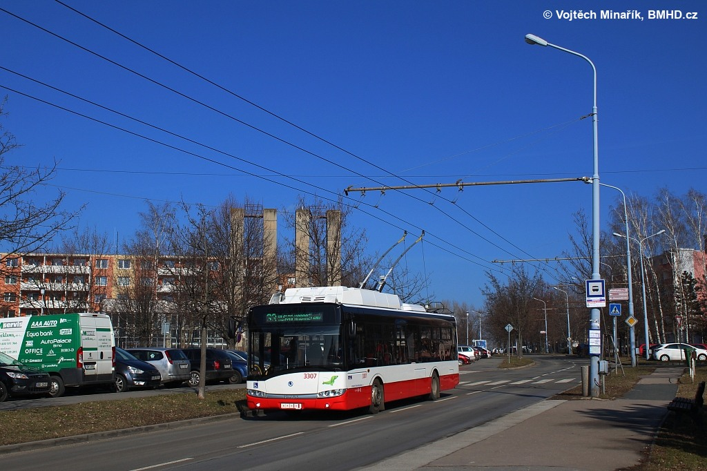Fotogalerie » Škoda 26Tr 3307 | Brno | Slatina | Mikulčická