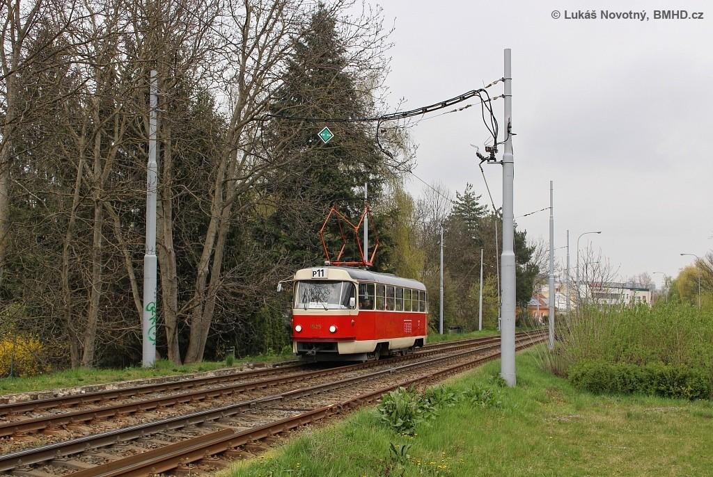Fotogalerie » ČKD Tatra T3 1525 | Brno | Komín