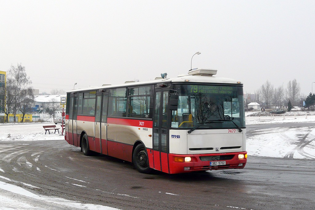 Fotogalerie » Karosa B951E.1713 3B2 5702 7477 | Brno | Líšeň | Trnkova | Zetor, smyčka