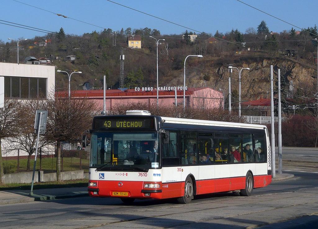 Fotogalerie » Irisbus Citybus 12M 2071.20 BZM 72-40 7610   Brno   Královo Pole   Kosmova