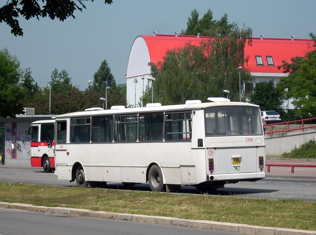 Fotogalerie » Karosa B732.1652 BSB 24-77 7286 | Brno | Lesná | Okružní | Haškova