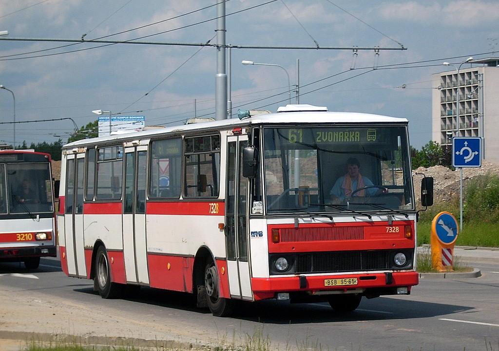 Fotogalerie » Karosa B732.1654 BSB 95-65 7328 | Brno | Bohunice | Kamenice