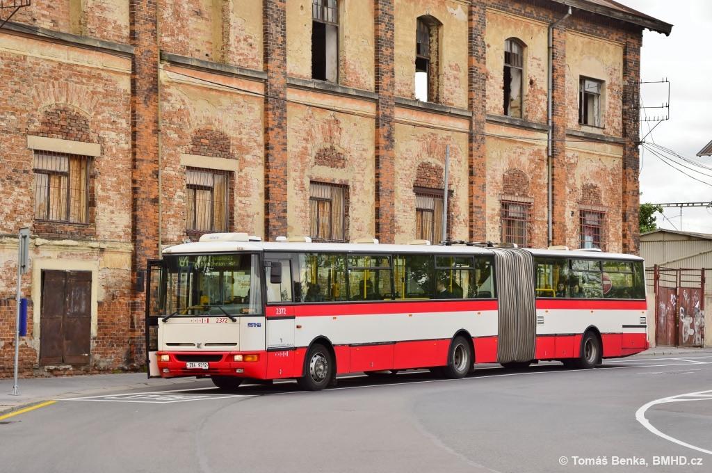 Fotogalerie » Karosa B961E.1970 2B4 9312 2372 | Brno | Trnitá | Rosická | Dolní nádraží
