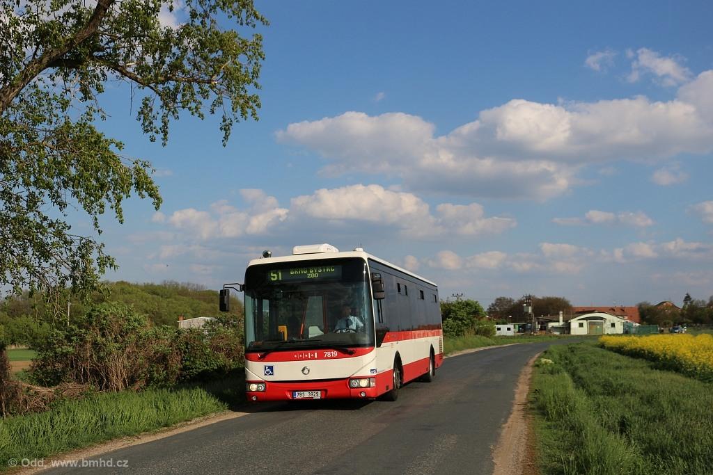 Fotogalerie » Irisbus Crossway LE 12M 7B3 3929 7819 | Troubsko | U Lednice