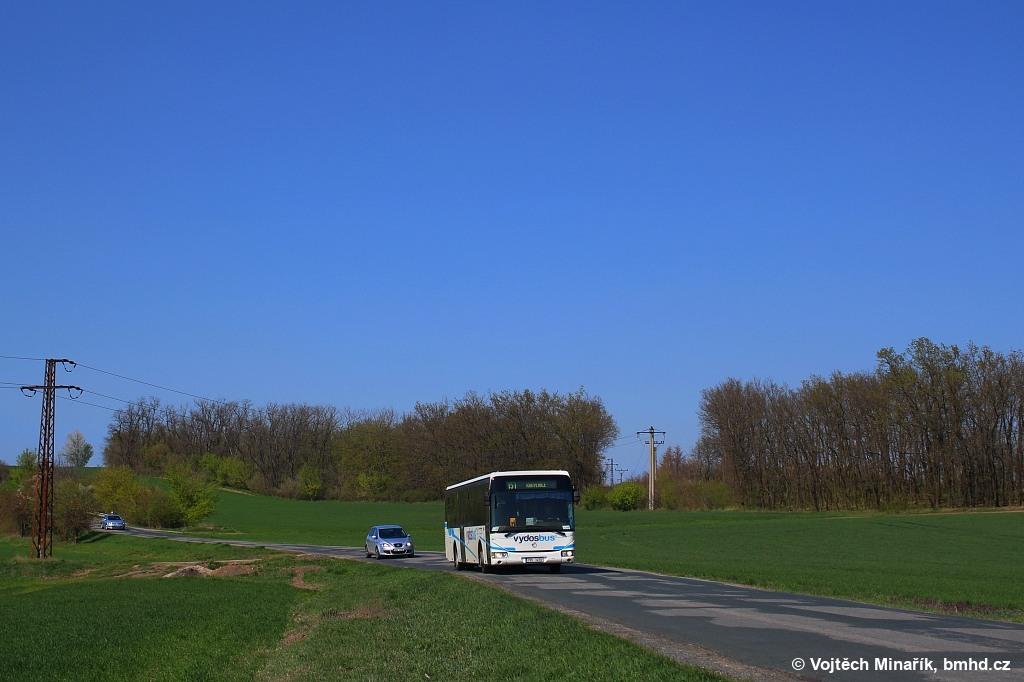 Fotogalerie » Irisbus Crossway LE 12.8M 7B5 3459 | Kobylnice | silnice od Šlapanic