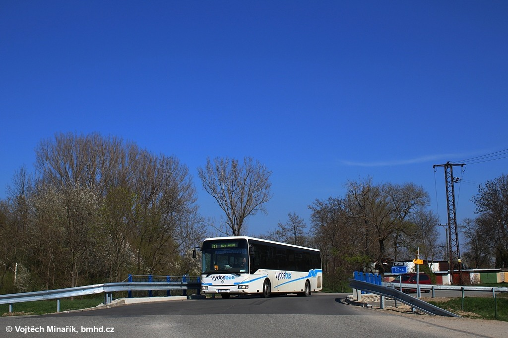 Fotogalerie » Irisbus Crossway LE 12.8M 7B5 3459 | Kobylnice | Táborská