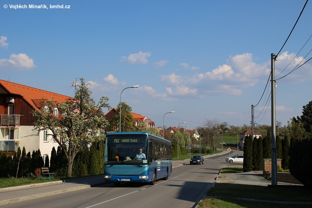 Fotogalerie » Irisbus Crossway LE 12M 4L2 5173 | Pozořice | Holubická