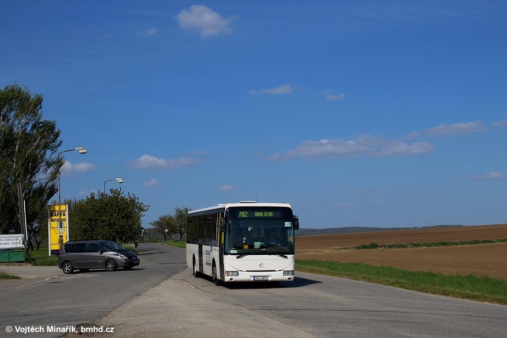 Fotogalerie » Irisbus Crossway LE 12M 3J4 8876 | Tvarožná | Tvarožná, ZD