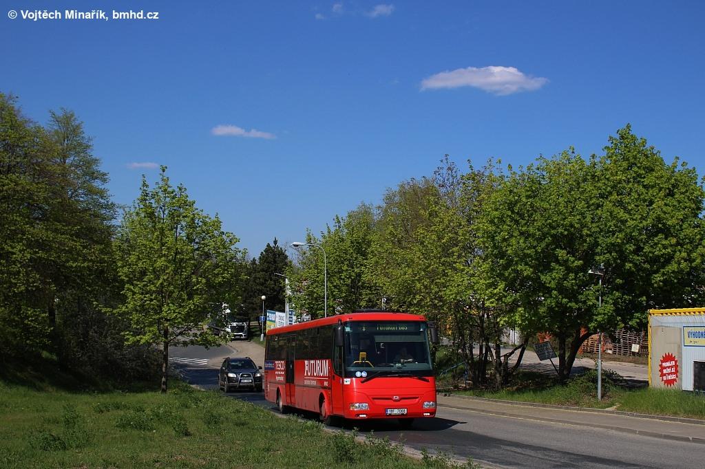 Fotogalerie » SOR C 12 1BF 7068 | Brno | Dolní Heršpice | Ořechovská