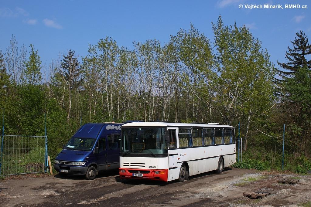 Fotogalerie » Karosa C935.1034 Récréo 1BK 0663 | Brno | Slatina | Hviezdoslavova