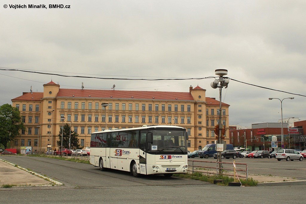 Fotogalerie » Karosa Axer 12M C956.1074 2BD 2818 | Brno | Trnitá | Košťálová