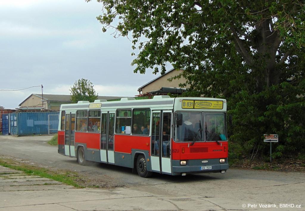 Fotogalerie » Karosa B831 02V 1529 | Brno | TMB Řečkovice