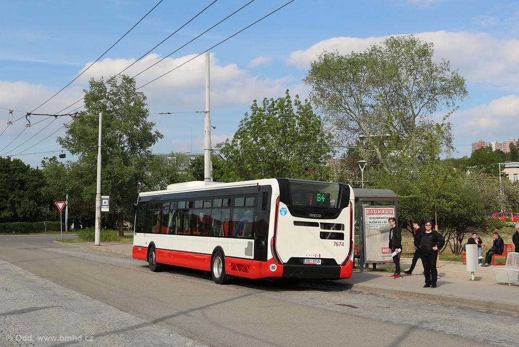 Fotogalerie » Iveco Urbanway 12M 2BC 9745 7674 | Brno | Židenice | Stará Osada