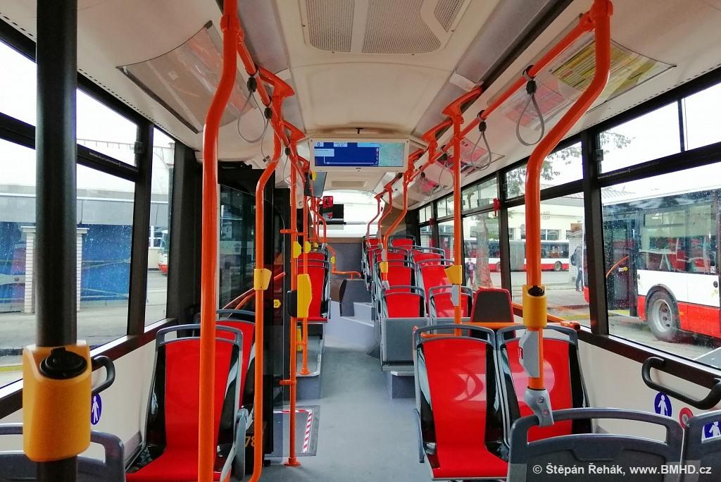 Fotogalerie » Iveco Urbanway 12M 2BC 9749 7678   Brno   vozovna Medlánky