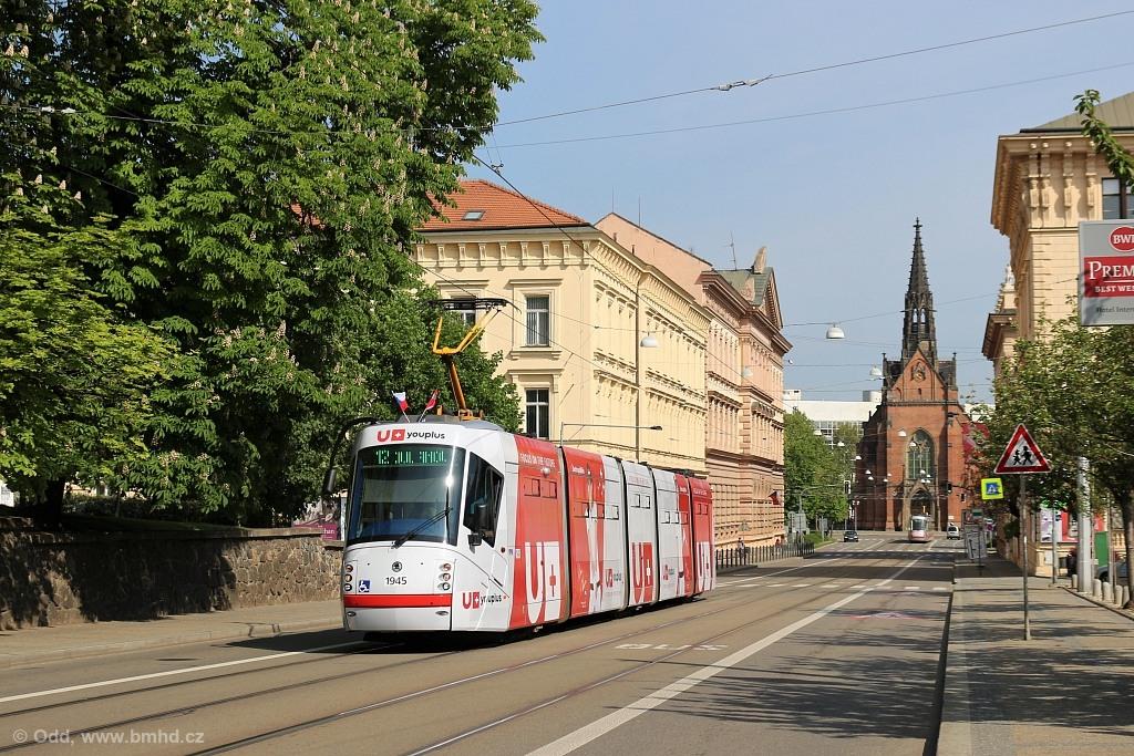 Fotogalerie » Škoda 13T6 1945   Brno   střed   Husova
