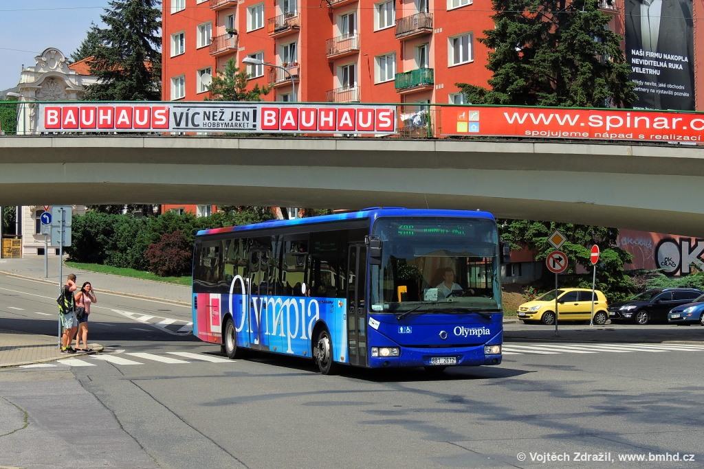 Fotogalerie » Irisbus Crossway LE 12M 8B1 2612 | Brno | Staré Brno | Křížkovského
