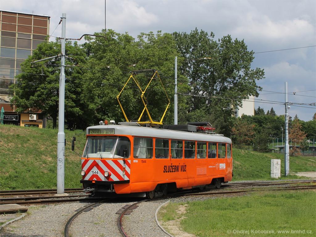Fotogalerie » ČKD Tatra T3M 1544 | Brno | Bohunice