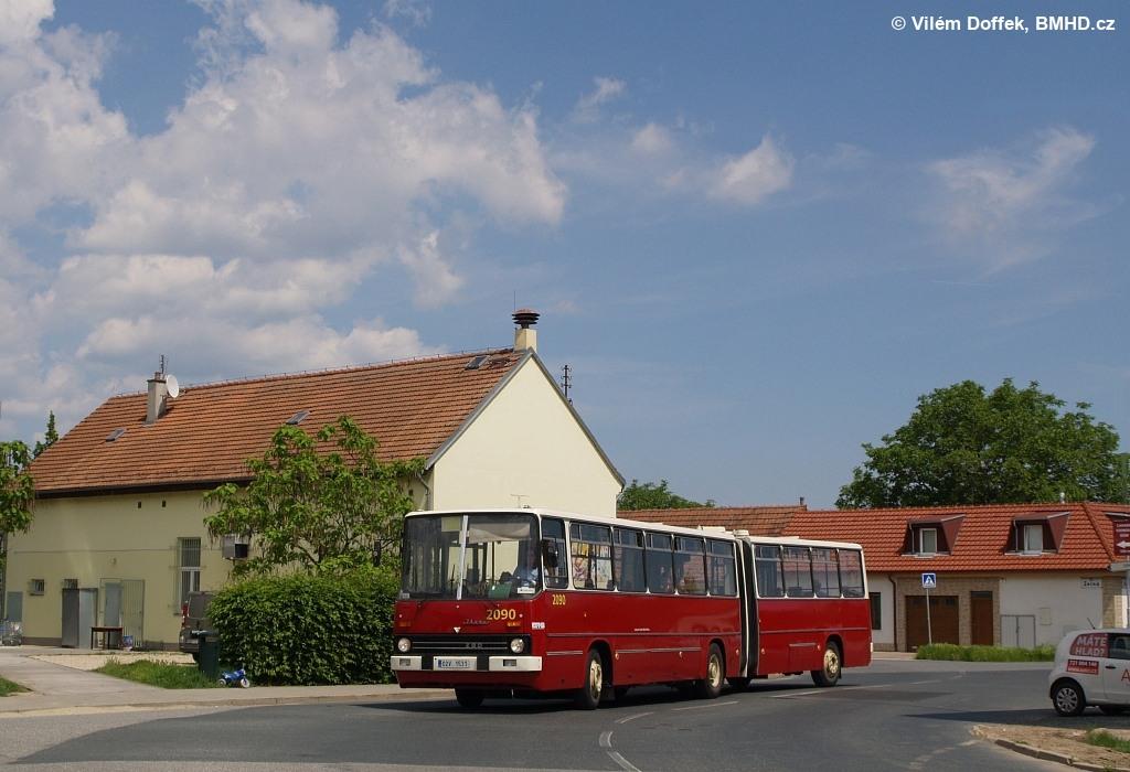 Fotogalerie » Ikarus 280.08 02V 1531 2090   Brno   Přízřenice   Zelná   Přízřenice