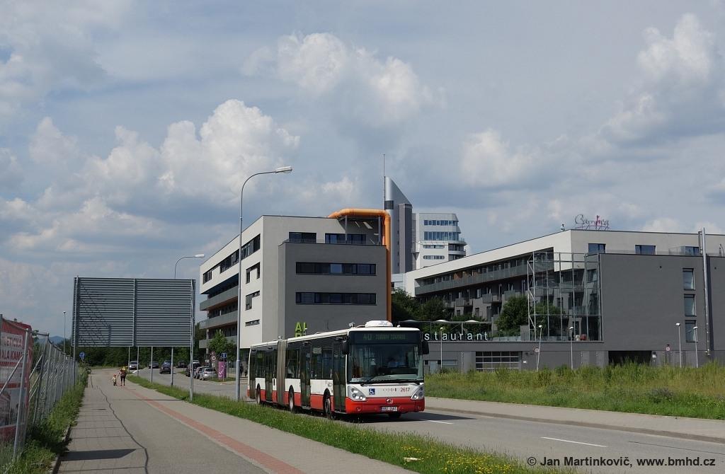 Fotogalerie » Irisbus Citelis 18M 6B2 2461 2617 | Brno | Bohunice | Netroufalky