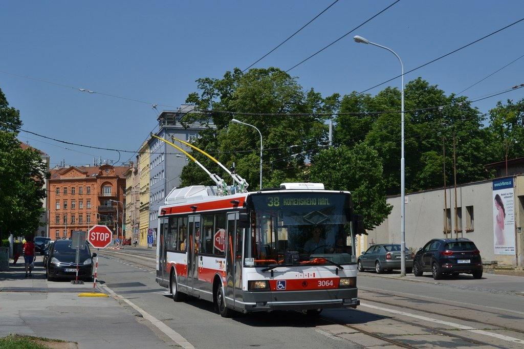 Fotogalerie » Škoda 21TrAC 3064 | Brno | střed | Údolní
