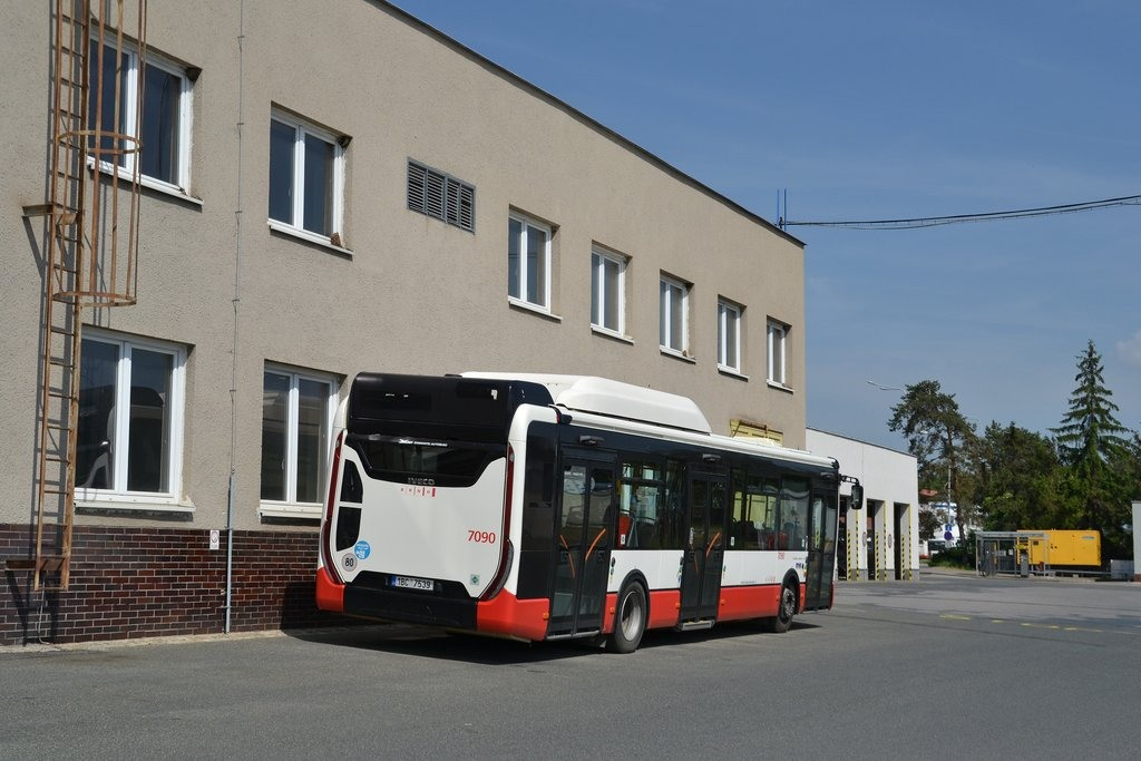 Fotogalerie » Iveco Urbanway 12M CNG 1BC 7539 7090 | Brno | vozovna Slatina
