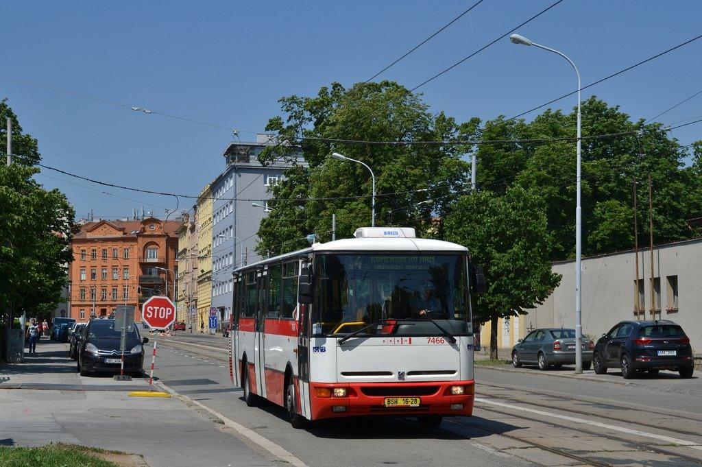 Fotogalerie » Karosa B931E.1707 BSH 16-28 7466 | Brno | střed | Údolní